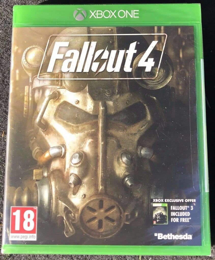 Fallout 4 for Xbox One (Includes Fallout 3 free) - Brand New & Sealed - £5 no offers