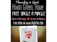 Free Single n Mingle (12 April)