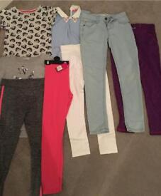 Girls age 8-9 year bundle of clothes