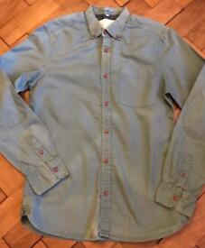 Men's or older boys green River Island Shirt Size Small