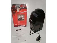 Gaggia Coffee Grinder, Type MM, black, in original box, made in Italy