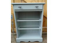 Solid Wood Storage Unit with Drawer - Very Versatile - Excellent Condition