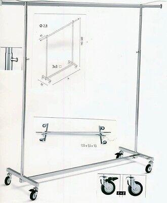 Brautmodenständer Garderobenständer Rollständer Reiserollständer klappbar 100 cm