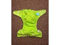 Charlie Banana One Size Cloth Nappy with 2 inserts | Lime Green | £20 | GREAT CONDITION | Rawmarsh