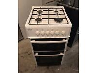 BEKO White Very Nice Fully Gas Cooker 50cm wide & Fully Working Order