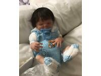Reborn preemie baby boy