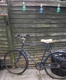 Vintage BSA bike