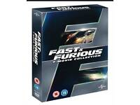 Fast & Furious 7 movie collection brand new sealed
