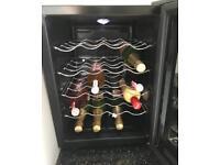 Wine cooler / fridge holds 16 bottles free delivery