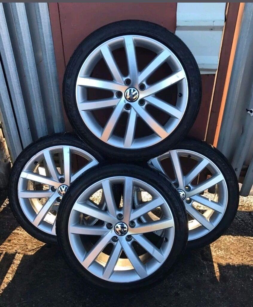 MK6, MK5, A3, A4 Alloys,Genuine VW Vancouver Alloys 18