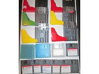 Lots of Good Used Floppy Discs Plus Cases