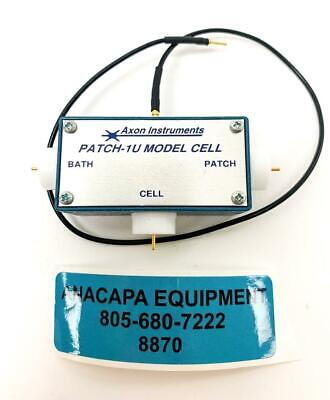 Axon Instruments Patch-1u Model Cell W X285204 4 Dovetail Extension New 8870