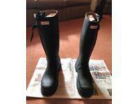 NEW Hunter Balmoral Sovereign Boots, Size 9, EU 43