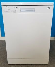Beko Dishwasher DFN05X10W/FS20553 ,6 months warranty, delivery available in Devon/Cornwall