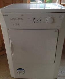 Beko DRVT61 W - 6kg - Vented Dryer - Delivery Available