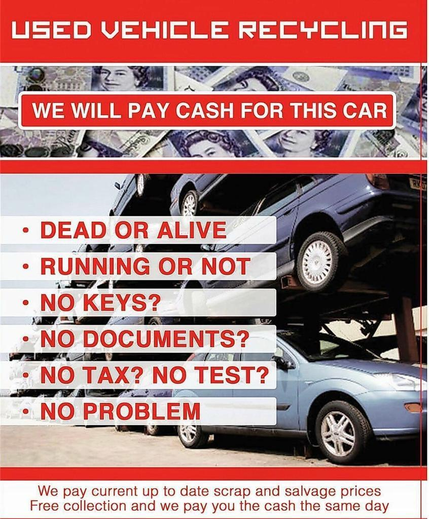 SCRAP CARS WANTED TOP PRICES PAID!!! | in Newcastle, Tyne and Wear ...