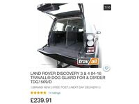 Discovery 4 dog guard