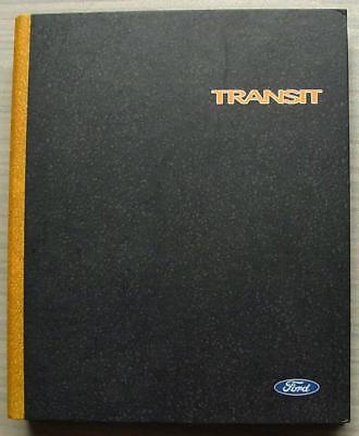 FORD TRANSIT Van Commercial Press Pack Folder 1999-2000 CD ROM Photos SLIDES