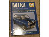 Haynes Mini Service and Repair Manual