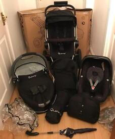 Quinny buzz travel system with extras