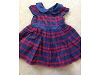 Baby girl dress, size 3-6 months