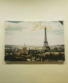 Lovely New Paris Canvass Frame Picutres Can Deliver Locally for £5