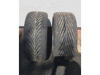 Pair of 245 35 19 BMW Tyres
