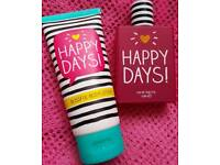 Unwanted Christmas gift happy days body lotion and perfume
