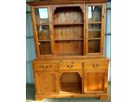 Solid Pine Large Kitchen Dresser