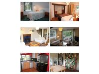 3 Bedroom Chalet Bungalow in Stockbridge. Fully furnished.