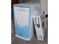 Barebones micro-ATX desktop tower PC (AMD Athlon 64 X2 4200+, 2GB RAM, DVD-RW)