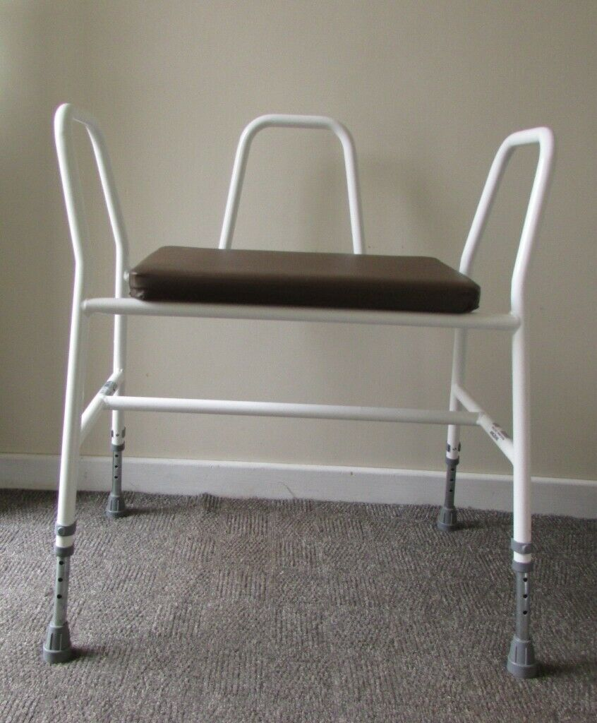 Mobility Bath Chair Walker Adjustable Height Wide Seat Arm Support Delivery Within Le3 Area In Leicester Forest East Leicestershire Gumtree
