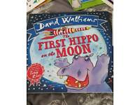 david walliams book the first hippo on the moon