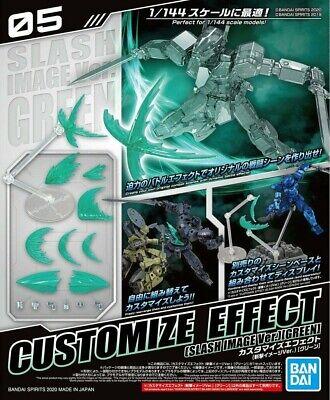 Bandai Spirits 30MM Customize Effect #05 Slash Image Green Ver. Model Kit USA