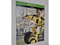 FIFA 17 Legends Xbox One Digital Code on card