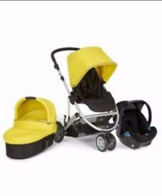 Mamas & papas 3 in 1 zoom travel system