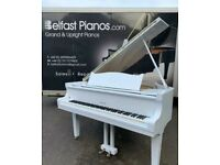 Rosler Baby Grand Piano|| White | 🎹 Belfast Pianos 🎹 || Free delivery 🚚 📦