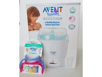Avent Express 6 Bottle Electric Steam Steriliser