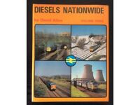 RAILWAY BOOK. DIESELS NATIONWIDE VOLUME 3 BY DAVID ALLEN FOR SALE
