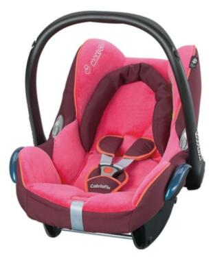 maxi cosi cabriofix chilli pepper pink schwarz test. Black Bedroom Furniture Sets. Home Design Ideas