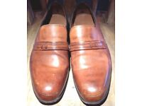 Barker's Brown Leather Shoes size 9