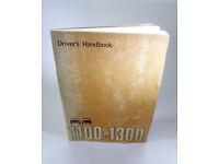 1100-1300 Driver's Handbook