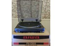 Aiwa PX-E833 turntable. Internal phono stage which can be selected if required