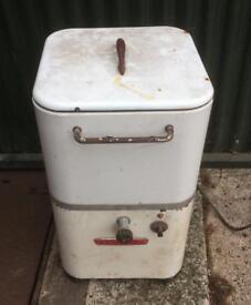 Vintage Easicleane Single Tub Washing Machine Garden Planter