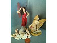 job lot of resin fairies