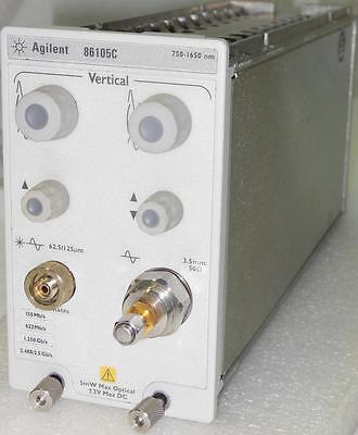 Agilent 86105C 9 GHz Optical / 20 GHz Electrical Sampling Module - 86100 A/B/C/D