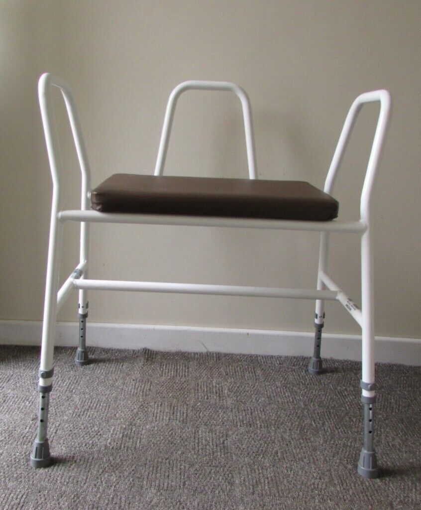 Magnificent Mobility Medequip Strong Shower Seat Stool Bench With Handles Adjustable Height Extra Wide In Leicester Forest East Leicestershire Gumtree Gmtry Best Dining Table And Chair Ideas Images Gmtryco