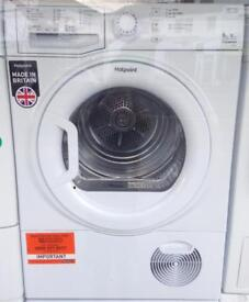 ***NEW Hotpoint 9kg condenser sensor dryer for SALE with 1 year guarantee***