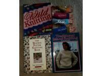 Four Superb Knitting Books