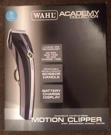 Wahl motion cordless clippers.
